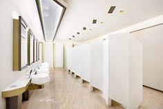 Wc Public, Interior Architecture, Interior Design, Architect Design, Retail Design, Cladding, Industrial Design, Building, Modern
