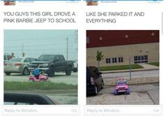 This girl's new ride: | 28 Pictures That Will Make You Laugh Way Harder Than You Should