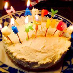 ロウが垂れております_| ̄|○ - 19件のもぐもぐ - レアチーズケーキ by hasese