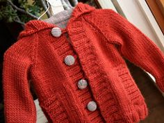 Knit this adorable hoodie for the whole family. (Lion Brand Yarn)