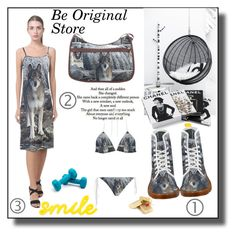 """""""Be original store  5"""" by ramiza-rotic ❤ liked on Polyvore featuring Love Quotes Scarves and Chanel"""