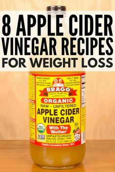 While apple cider vinegar is said to be extremely effective for weight loss, it has a lot of other uses and benefits people don't know about. It's a great natural remedy for colds and sore throats, clears acne, and is great for skin and for hair, and has a ton of other amazing properties. We've rounded up 8 hot apple cider recipes that are infused with healthy ingredients like raw honey, cayenne pepper, and water to help detox your body, speed up weight loss, and boost your immunity!