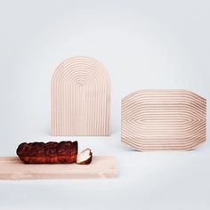 """""""Field"""" bread boards designed by Shane Schneck for HAY"""