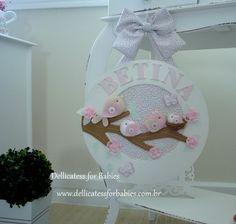 Quadro de maternidade passarinho - Dellicatess for Babies
