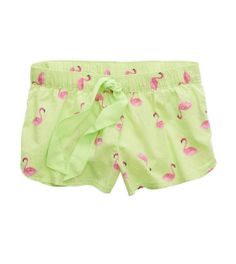 Aerie Women's Printed Boxer from American Eagle Outfitters. Shop more products from American Eagle Outfitters on Wanelo. Flamingo Outfit, Cool Outfits, Summer Outfits, Clothing Staples, Comfy Shorts, American Eagle Men, Sleepwear Women, Mens Outfitters, Pink Flamingos