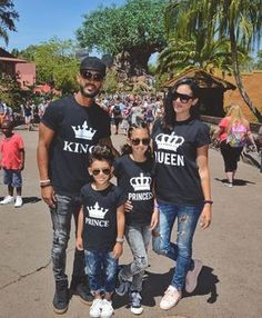 King Queen Prince Princess Crowns Matching Family Shirts - Family Shirts - Ideas of Family Shirts - King Queen Prince Princess Family Shirts Matching Family Shirts. These bestseller shirts are a perfect outfit for you and your loved ones. Cute Couple Shirts, Matching Couple Shirts, Matching Couples, Matching Family Outfits, Matching Clothes, Couple Clothes, Family Clothes, Couple Outfits, Cheap Clothes