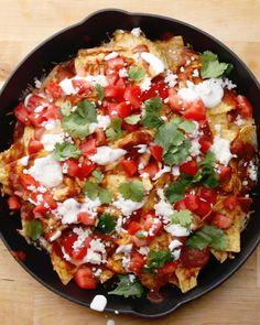 Loaded Enchilada Nachos