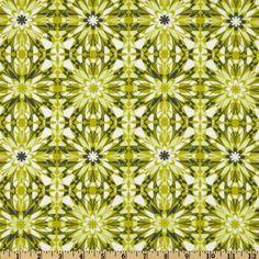 Fabric.com, 100% cotton, Silent Cinema Starlet Green