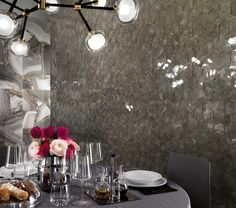 bdf0c4393e332d Modern interiors of geometric visions create striking feature walls for  living areas, entrances and places