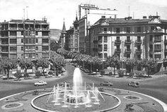 1962.Plaza Príncipe de Viana -PLAZA  CIRCULAR-AVENIDA  SAN  IGNACIO