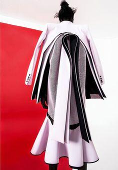 Robert Wun 'VOLT'  a/w2014 collection http://www.mikapoka.com/2014/08/robert-wuns-design-ingenuity.html