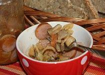 Utopenci s hlívou - pikantní Pudding, Beef, Canning, Chicken, Desserts, Food, Meat, Tailgate Desserts, Deserts