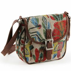 tapestry saddle bag