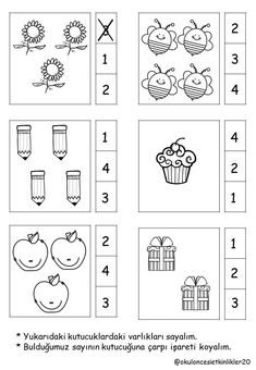 Top 40 Examples for Handmade Paper Events - Everything About Kindergarten Kindergarten Math Worksheets, Math Literacy, Preschool Learning Activities, Preschool Printables, Preschool Activities, Numbers Preschool, Math For Kids, Ten Frames, Fill