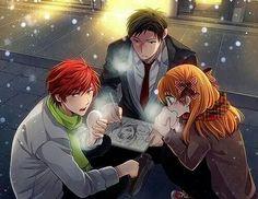 Mikoshiba, Nozaki & Sakura. ~Gekkan Shoujo Nozaki-kun