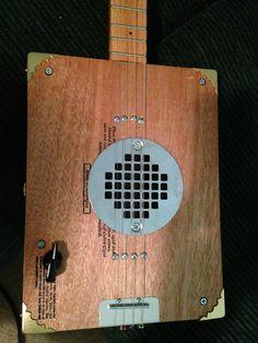 Cigar box guitar by Bluesboy Jag Get yours at…
