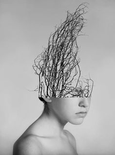 Los Angeles-based artist Alexandra Bellissimo has created some amazing collages using the human body and nature. As a conceptual photographer, Bellissimo Surrealism Photography, Conceptual Photography, Conceptual Art, Creative Photography, Fine Art Photography, Portrait Photography, Surrealism Art, Exposure Photography, Monochrome Photography