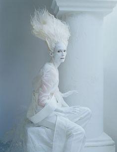 "Tim Walker - Tilda Swinton - hair Julien d'Ys - makeup Stephan Marais - stylist Jakob K - ""Stranger Than Paradise"""