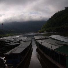 The Slow Boat into Laos: a two day journey from country to country.
