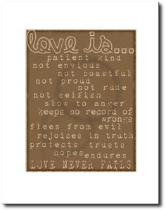 Love is... free printable from {aka}design