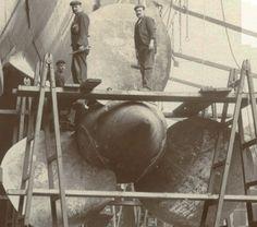 Lusitania propellors.