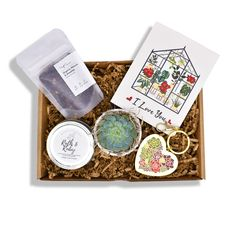 Personalized Succulent Gift Box - I Love You