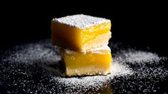 Lemon Bars with Olive Oil and Sea Salt by Melissa Clark