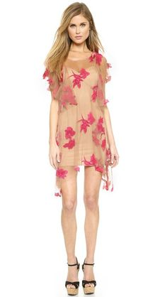 For Love & Lemons Orchid Mini Dress ... too short, but otherwise very lovely!