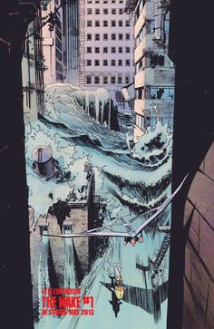 The Wake #1 preview page 3 by Sean Murphy. Click the link for the full preview.