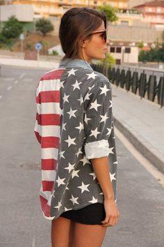 Julie Leah: A life & style blog: Paint it Patriotic