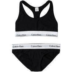 Calvin Klein Bralette ($46) ❤ liked on Polyvore featuring intimates, bras, underwear, lingerie, undies, black, bras & tops, womens-fashion, bralette bras and calvin klein bra