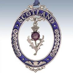 Purple and Scottish!