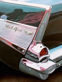 """Bel Air with Pink (2013, oil on aluminum panel, 23 x 30"""") / by Cheryl Kelley"""