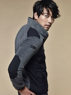 Hyun Bin makes you wish it was winter in photoshoot for Outdoorwear Hyun Bin, Han Ji Min, Asian Actors, Korean Actors, Woo Sung, Handsome Prince, Handsome Actors, Handsome Man, Cute Actors