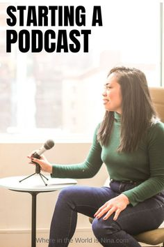 Podcasting 5 Mistakes to Avoid When Starting A Podcast Create Your Own Business, Starting Your Own Business, Best Online Jobs, Online Work, Virtual Jobs, Podcast Tips, Starting A Podcast, Work Abroad, Online Business