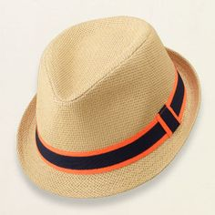 baby boy - accessories - straw fedora | Childrens Clothing | Kids Clothes | The Childrens Place