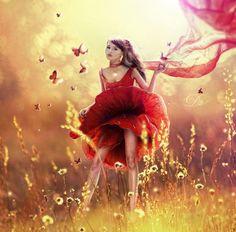 Poppy  by Wonderful Digital Art by Eva Lagnim   Cuded