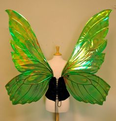 Giant Butterfly Painted Fairy Wings in your от TheFancyFairy