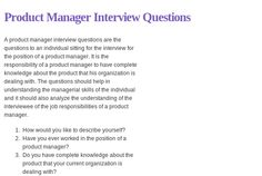 63 Best MGT Interview Q's images in 2019 | Learning