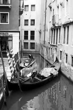 Gondolas in Venice by Ioana Andra on 500px