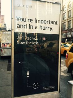 "I spotted this bus shelter ad on Sixth Avenue this morning and thought that it was a perfect encapsulation of the ""do it for me"" class of products. Share this:"
