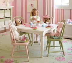 For tea parties and art sessions.