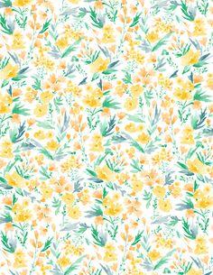 Vikki Chu. Flowers pattern. Estampado floral. http://perfectodia.blogspot.com.es