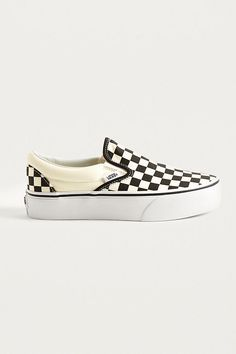 89d3e2f726a Slide View  1  Vans Checkerboard Slip-On Platform Trainers Urban Outfitters  Women