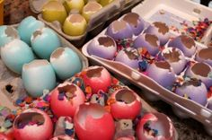 "The tradition's roots are in Mexico and other Latin American countries, where cascarones (the word means ""eggshells"" in Spanish) are used for fiestas and other celebrations."