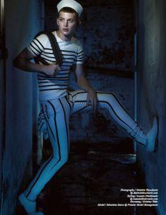 Sebastian Sauve by Dimitris Theocharis | Querelle | Homotography