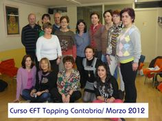 #CursoEFT Tapping Cantabria. Marzo 2012