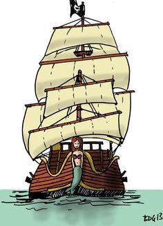 Récapitulatif - Les pirates - Bout de gomme