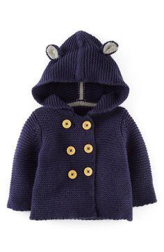 Main Image - Mini Boden Knit Jacket (Baby Boys)