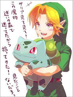 Legend of Zelda x Pokemon